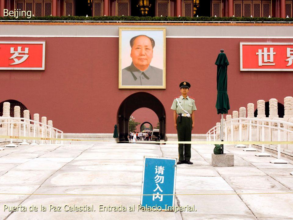 Beijing Plaza de Tiananmen