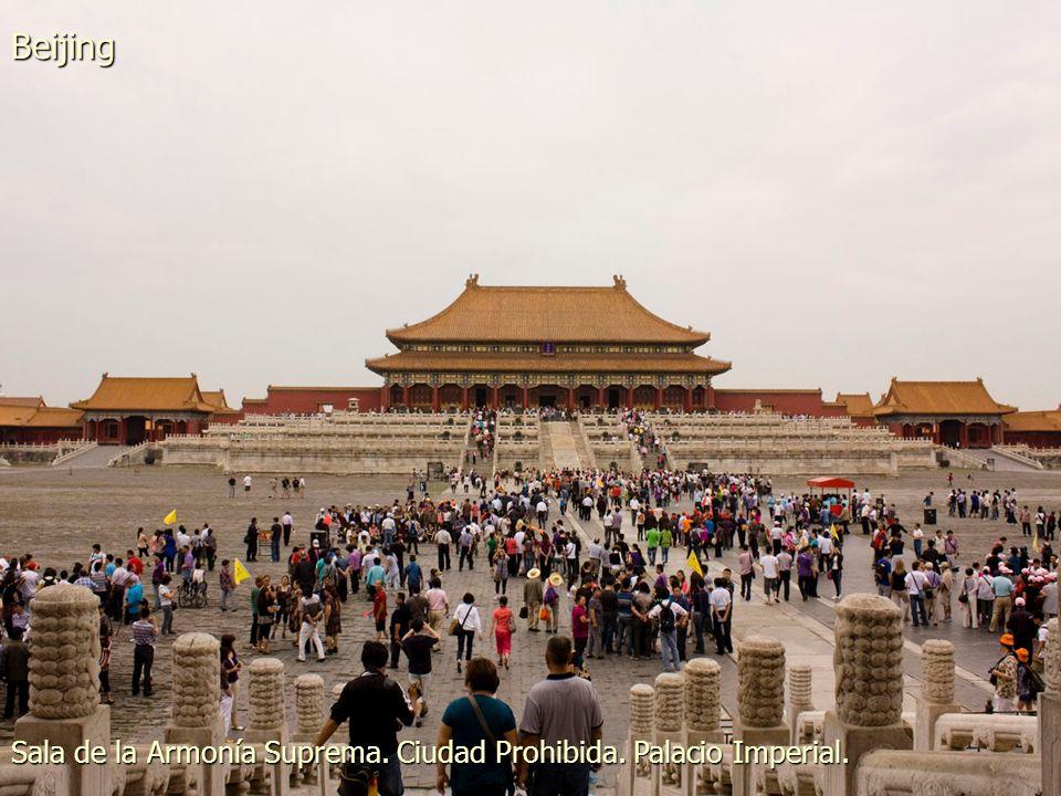 Puerta de la Paz Celestial. Entrada al Palacio Imperial. Beijing