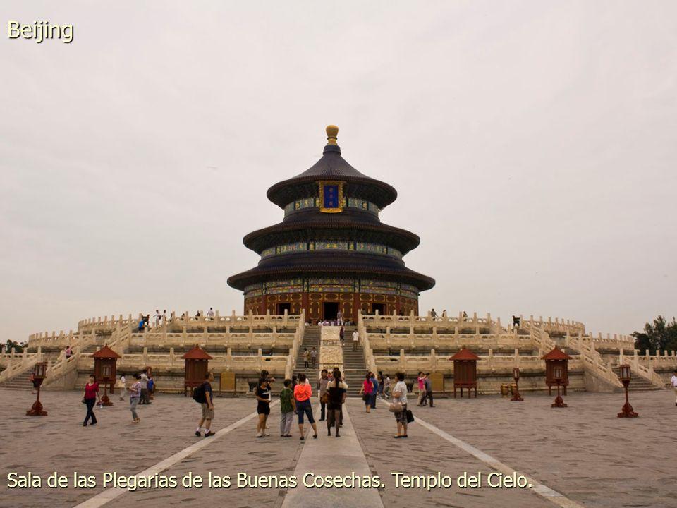 Sala de la Armonía Suprema. Ciudad Prohibida. Palacio Imperial. Beijing