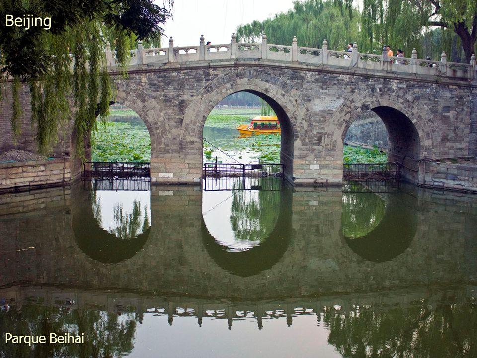 Mirando al norte desde el Parque Jingshan. Beijing