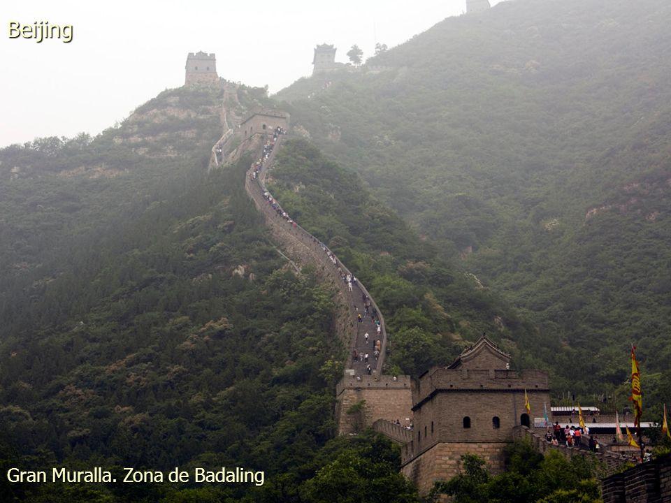 Gran Muralla. Zona de Badaling Beijing