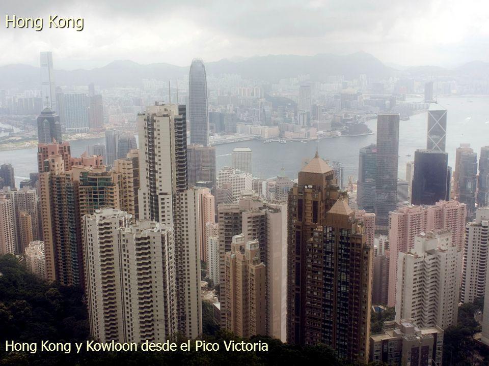 Hong Kong Vista de Hong Kong desde Tsim Sha Tsui
