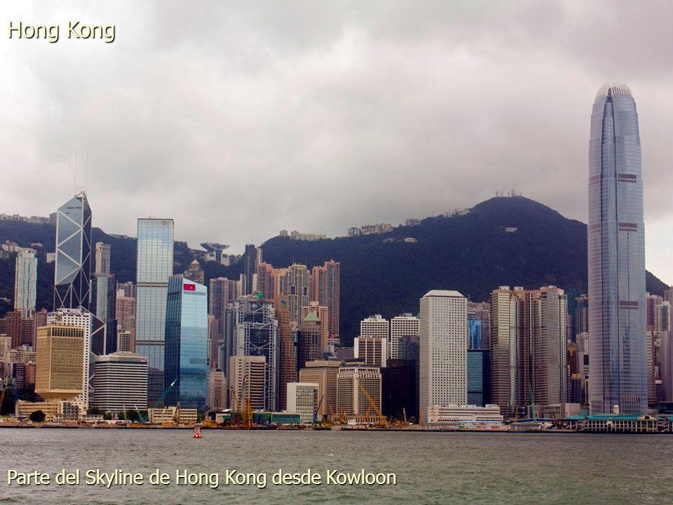 Hong Kong y Kowloon desde el Pico Victoria Hong Kong