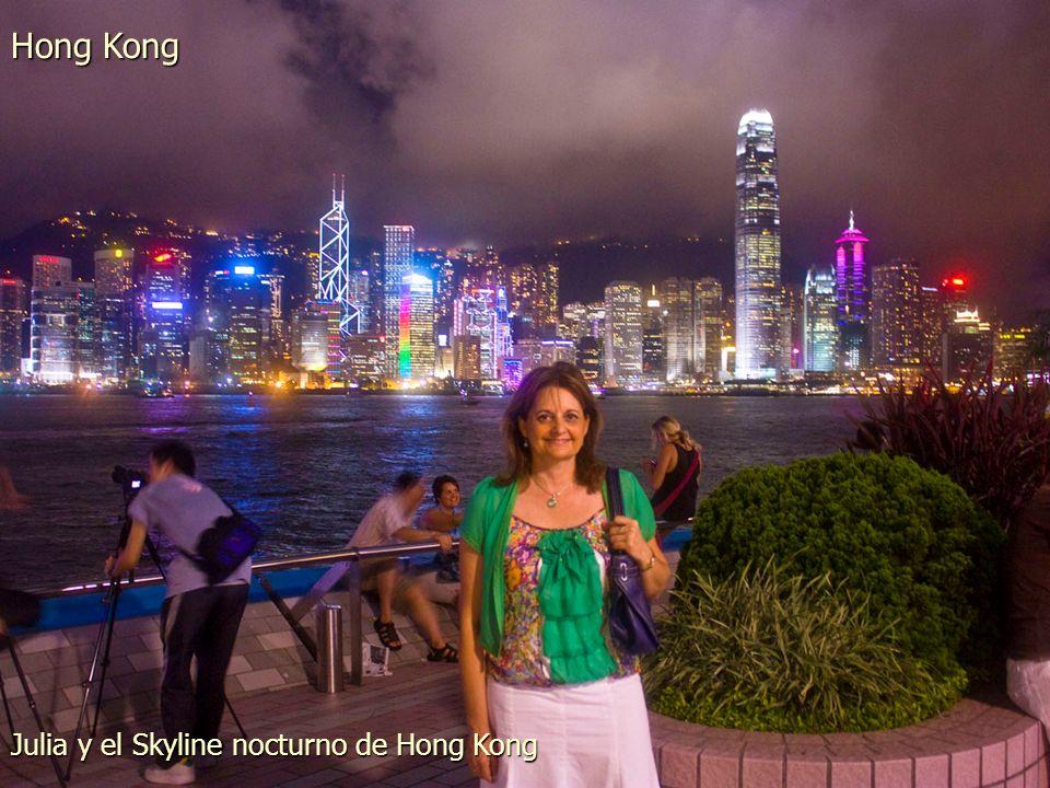 Parte del Skyline de Hong Kong desde Kowloon Hong Kong