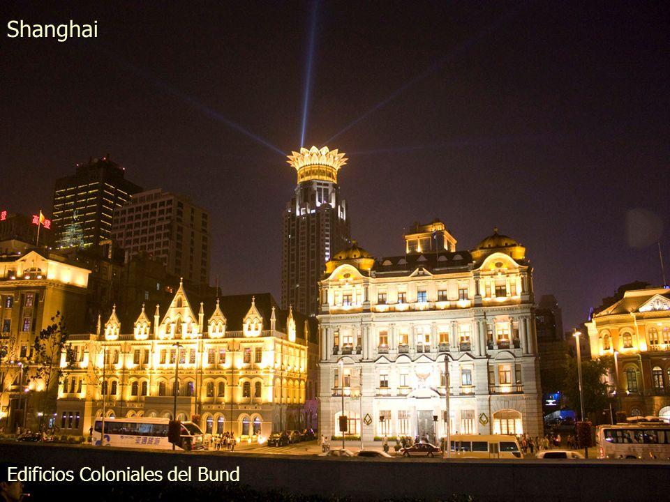 Edificios Coloniales del Bund Shanghai
