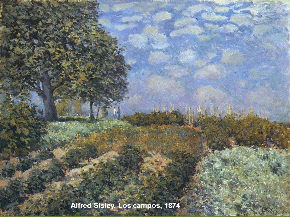 Pissarro, Campo de coles en Pontoise, 1873
