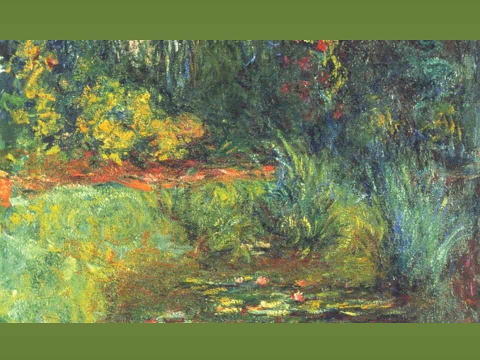 Monet. Estanque de los nenúfares. 1918-19