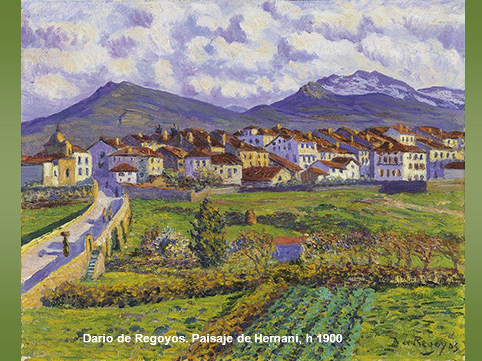 Joaquín Sorolla. Patio de la casa de Sorolla, 1917