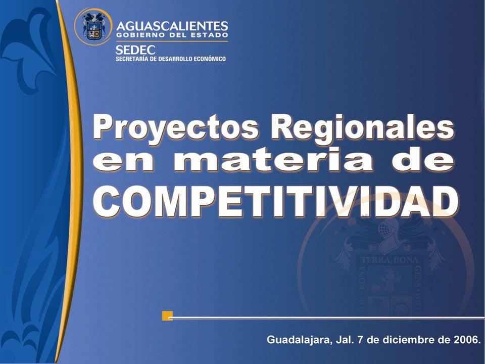 Organización para la Cooperación y el Desarrollo Económico (OCDE) Objetivo: Evaluar la utilidad de las políticas públicas que apoyan a los clusters industriales como estrategia de desarrollo regional.