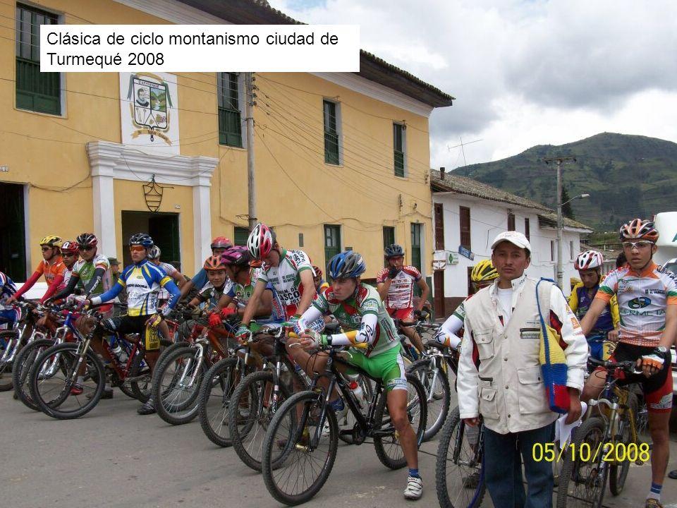 Clásica de ciclo montanismo ciudad de Turmequé 2008