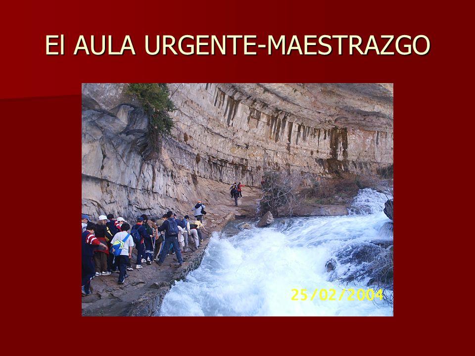 El AULA URGENTE-MAESTRAZGO