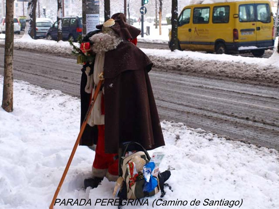 PARADA PEREGRINA (Camino de Santiago)