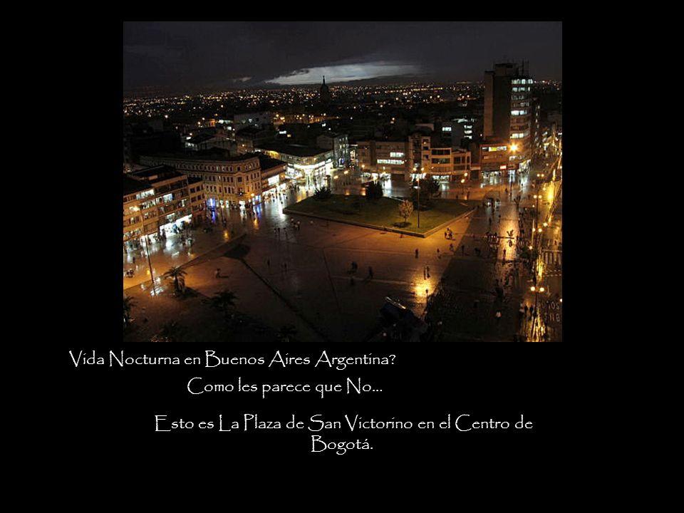 Vida Nocturna en Buenos Aires Argentina.