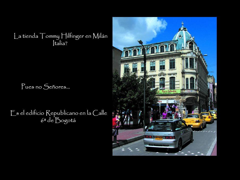 La tienda Tommy Hilfinger en Milán Italia.Pues no Señores...