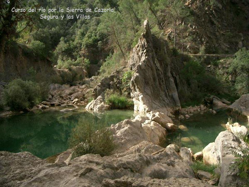 A su paso por la Sierra de Cazorla Es el curso fluvial más importante de Andalucía.