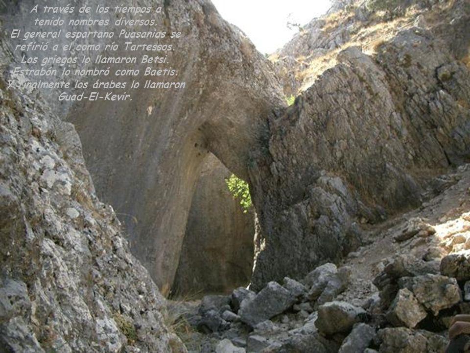 Curso del río por la Sierra de Cazorla, Segura y las Villas