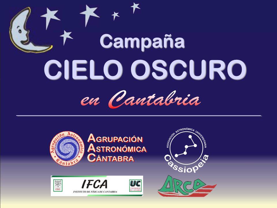 CAMPAÑA CIELO OSCURO 1.1. La contaminación lumínica.
