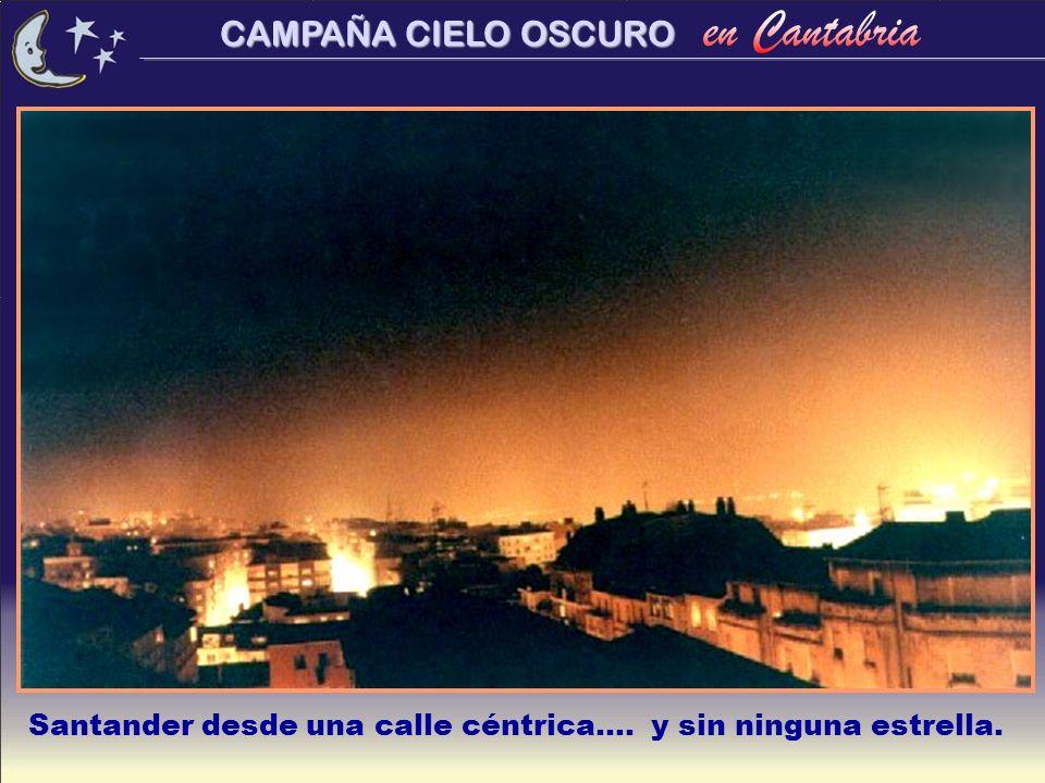 CAMPAÑA CIELO OSCURO...Iluminan lo mismo que...