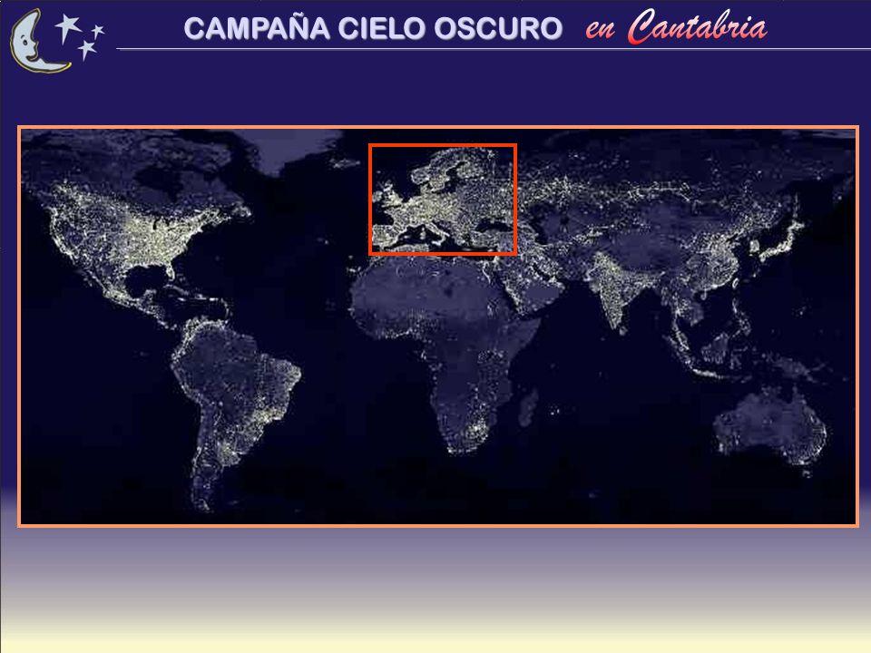 CAMPAÑA CIELO OSCURO La Campaña en Cantabria Comienzo: Otoño 2001.