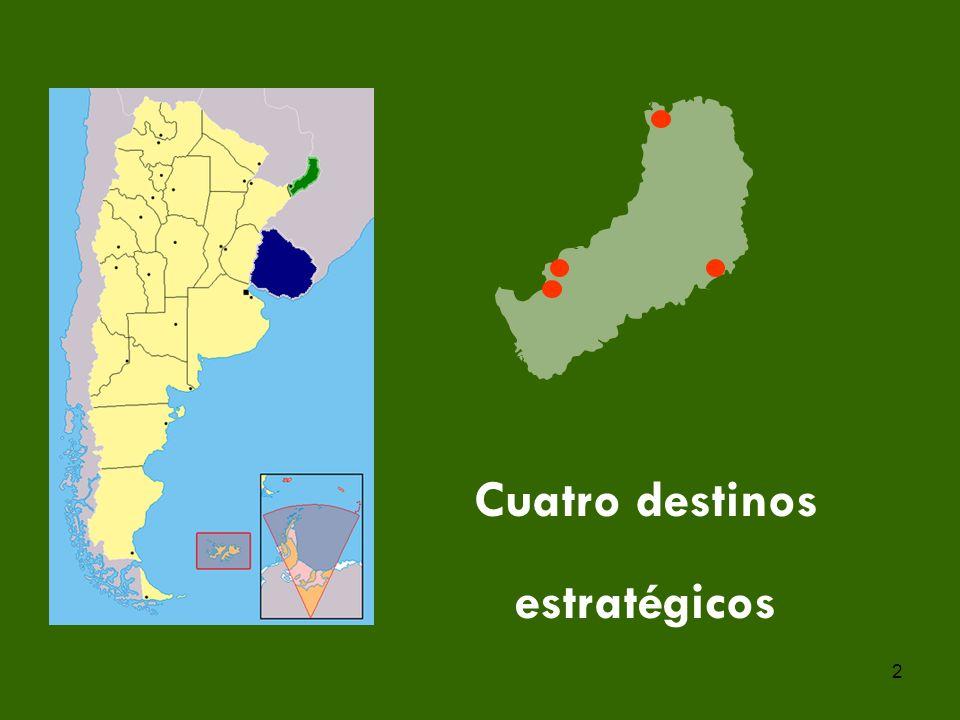 2 Cuatro destinos estratégicos