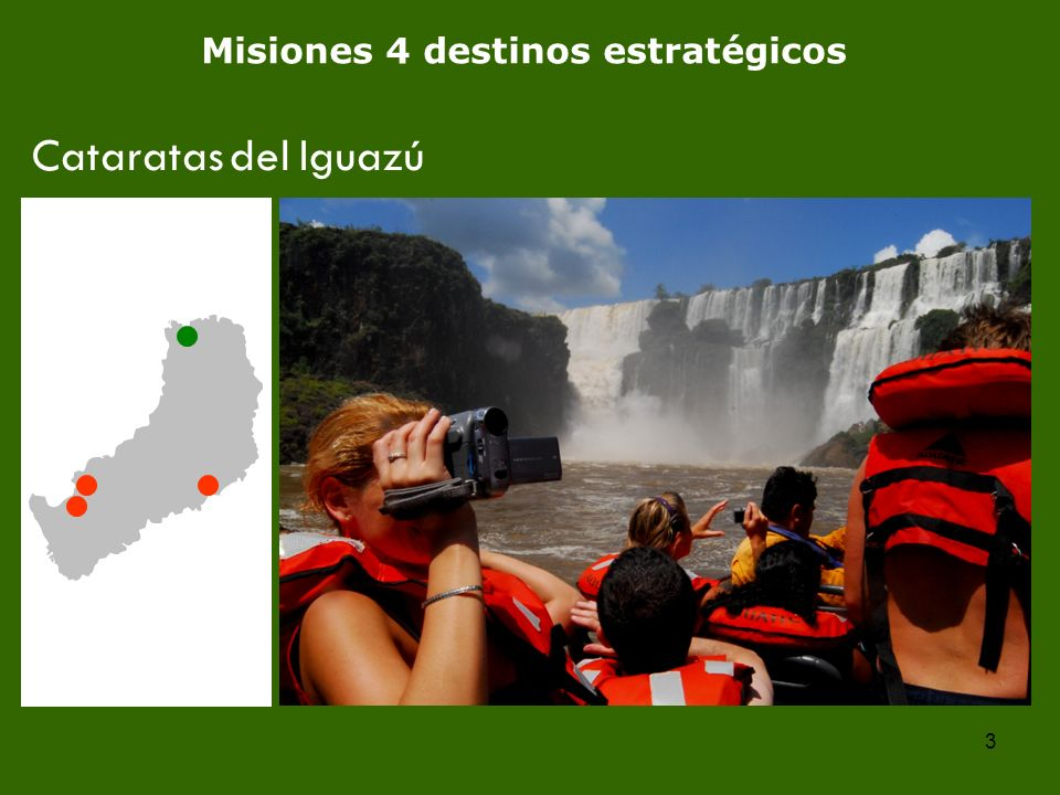 3 Misiones 4 destinos estratégicos Cataratas del Iguazú