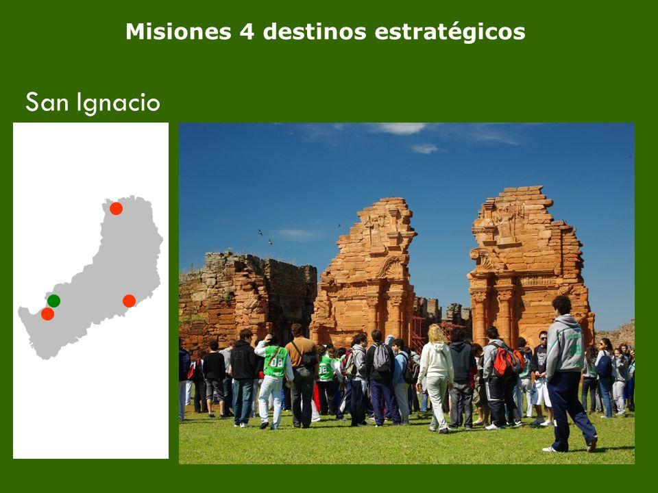 5 Misiones 4 destinos estratégicos San Ignacio