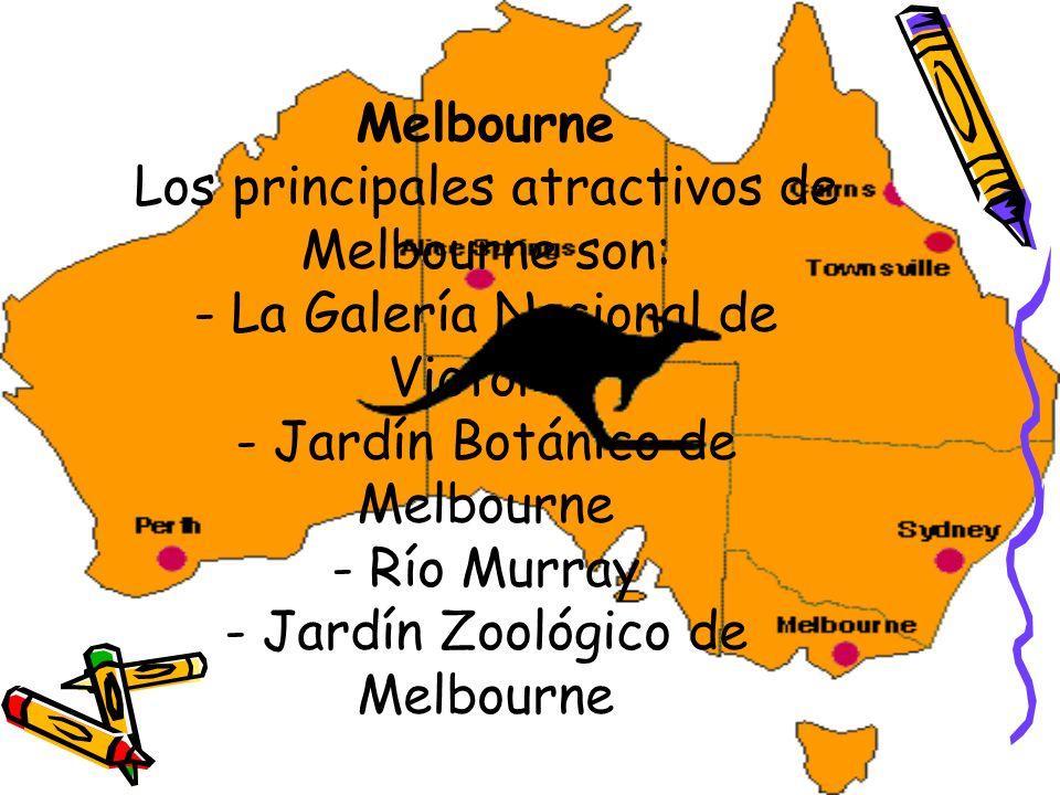 Ciudades principales en Australia Sydney: Los principales atractivos con los que cuenta Sydney son: - Parque Nacional Blue Mountains - Darling Harbour