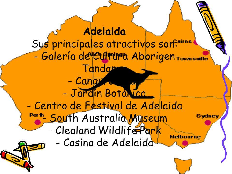 Canberra La mayoría de las atracciones están alrededor del lago, llamado el