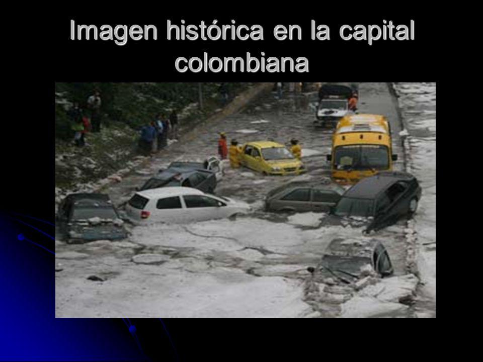 Imagen histórica en la capital colombiana
