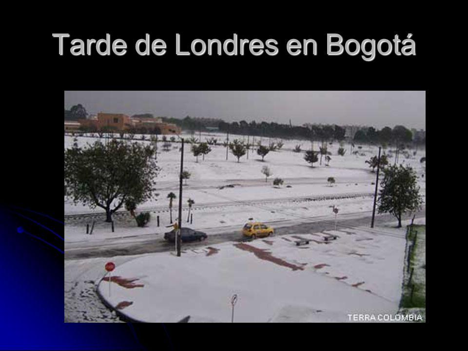 Tarde de Londres en Bogotá
