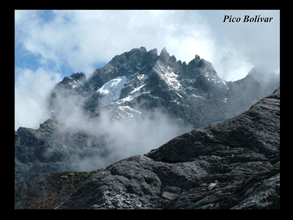 Pico Bolívar (el más alto de Venezuela)