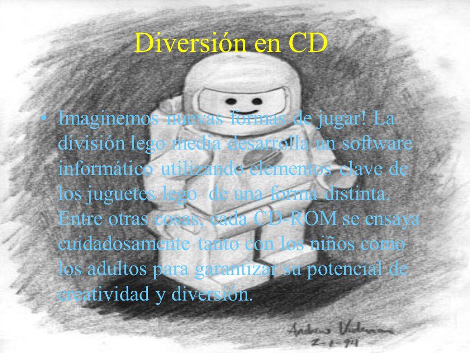Diversión en CD Imaginemos nuevas formas de jugar.