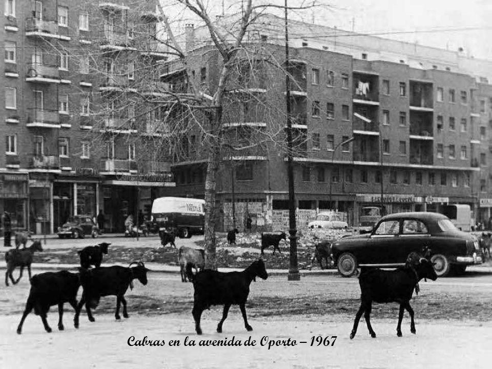 Barrenderos quitando nieve – 1967
