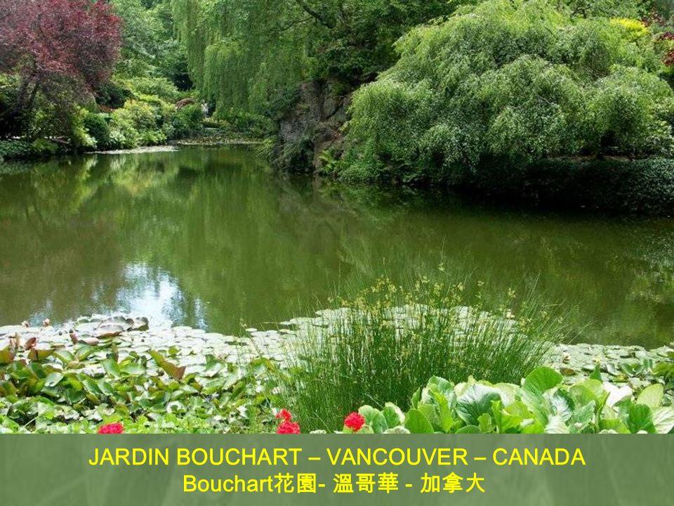 JARDIN BOTANICO – VANCOUVER – CANADA - -
