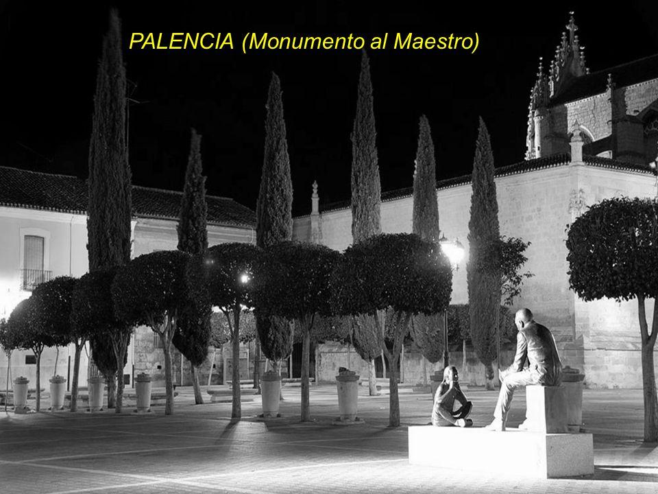 PALENCIA (Monumento al Maestro)