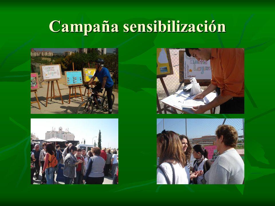 Campaña sensibilización