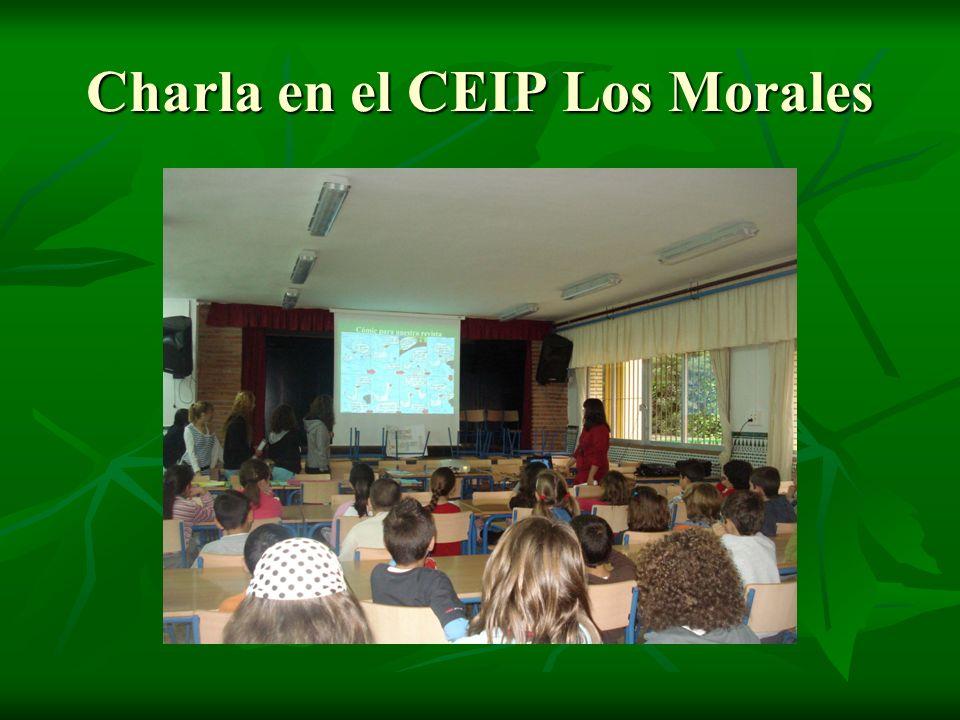 Charla en el CEIP Los Morales
