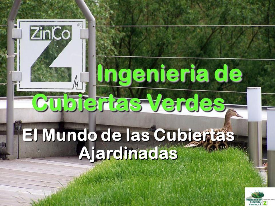 © ZinCo_Introduction_09.ppt Cubiertas ajardinadas combinadas con paneles solares Ingeniería y Sistemas de Cubiertas Ajardinadas