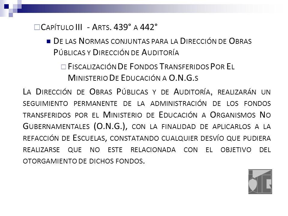 C APÍTULO III - A RTS.