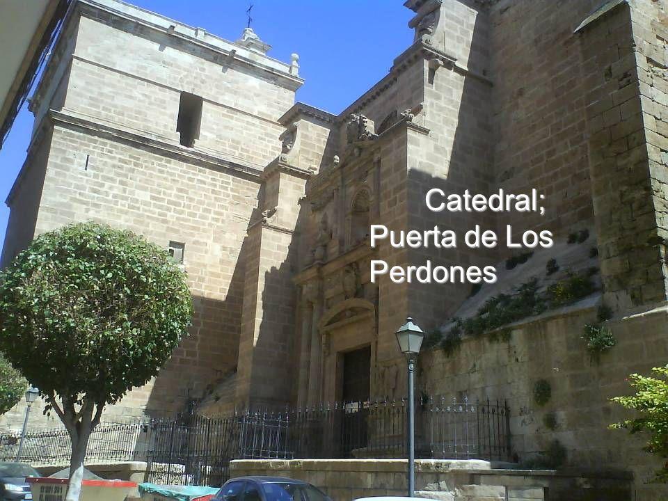 Alzado principal de la Catedral