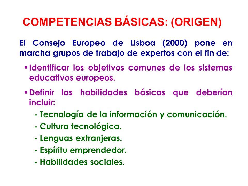 En el año 2006 la Unión Europea da a conocer las denominadas Competencias Clave: Comunicación en la lengua materna.