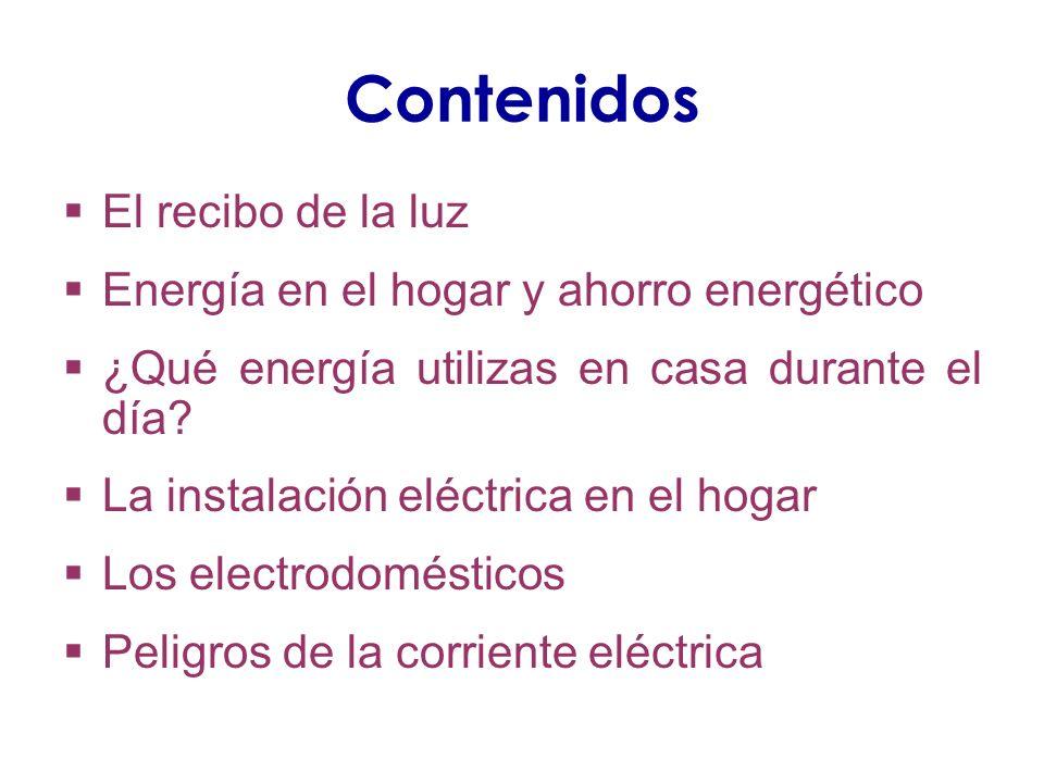 Competencias trabajadas ACTIVIDAD 1 C1: Identificar datos en la factura C2: Cálculos de potencias, IVA, … C3: Términos de energía eléctrica, potencia, aparatos de medida C4: Interpretación de la factura C5: Obligación como ciudadano de pagar la factura C8: Decisión sobre la potencia a instalar en casa ACTIVIDAD 2