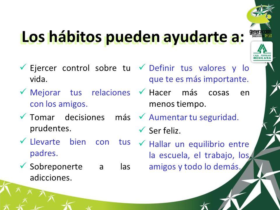 Hábitos para ser efectivos 3.Poner primero lo primero.