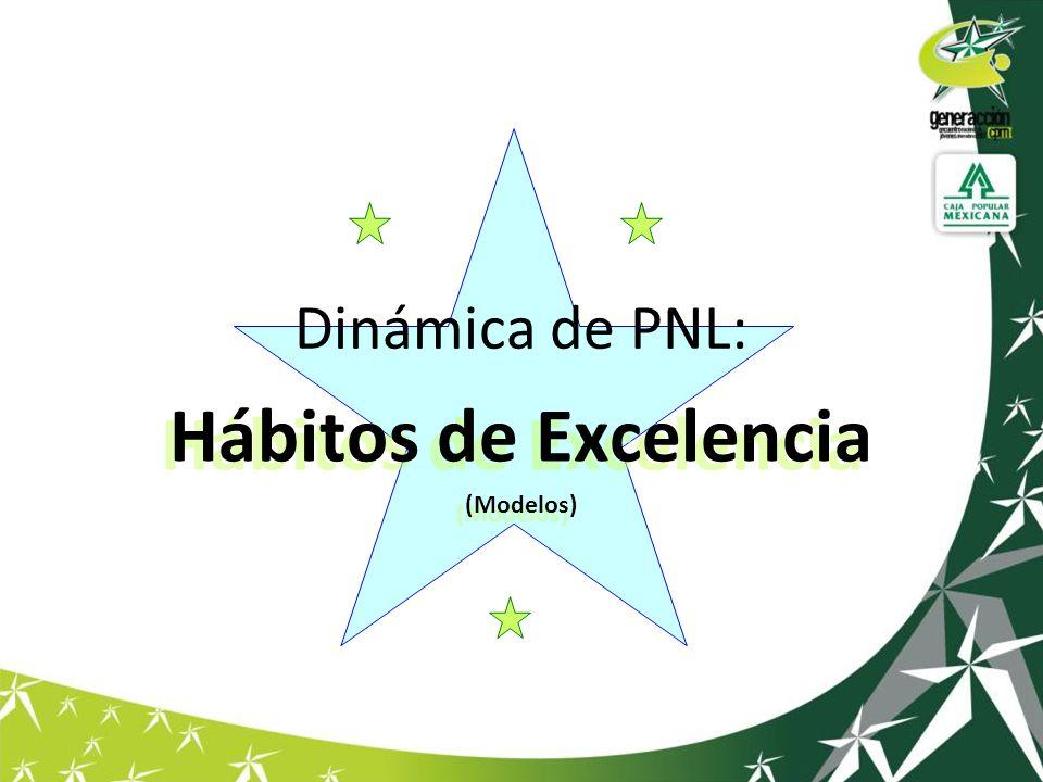 Dinámica de PNL: Hábitos de Excelencia (Modelos) Hábitos de Excelencia (Modelos)
