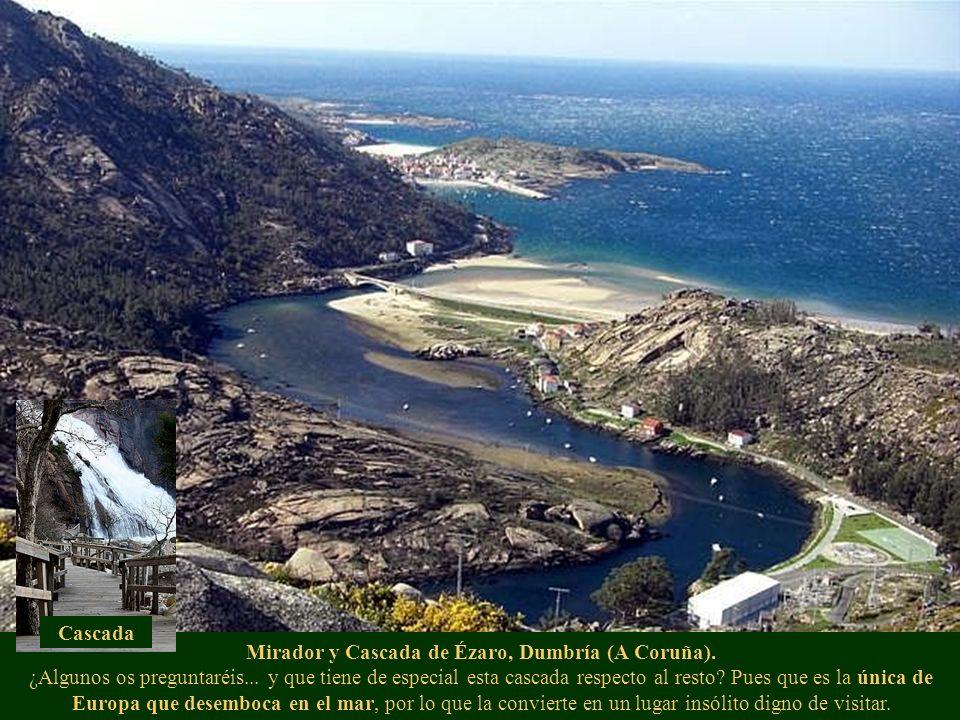 Mirador y Cascada de Ézaro, Dumbría (A Coruña). ¿Algunos os preguntaréis... y que tiene de especial esta cascada respecto al resto? Pues que es la úni