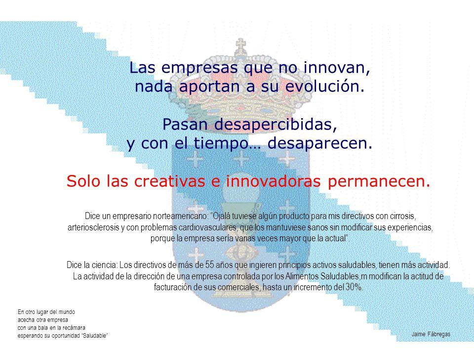 Las empresas que no innovan, nada aportan a su evolución. Pasan desapercibidas, y con el tiempo… desaparecen. Solo las creativas e innovadoras permane