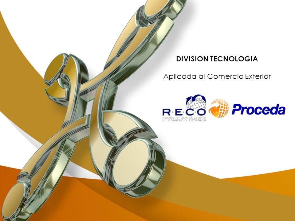 DIVISION TECNOLOGIA Aplicada al Comercio Exterior