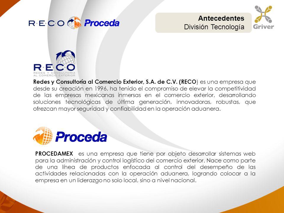 Redes y Consultoría al Comercio Exterior, S.A. de C.V. (RECO ) es una empresa que desde su creación en 1996, ha tenido el compromiso de elevar la comp
