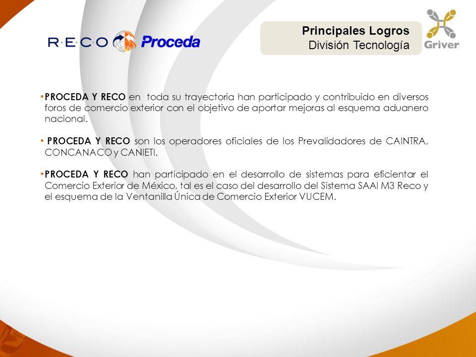 PROCEDA Y RECO en toda su trayectoria han participado y contribuido en diversos foros de comercio exterior con el objetivo de aportar mejoras al esque