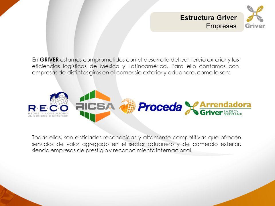 En GRIVER estamos comprometidos con el desarrollo del comercio exterior y las eficiencias logísticas de México y Latinoamérica. Para ello contamos con